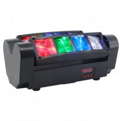 LED MINI SPIDER COLOR 8X3W RGBW Big Dippe