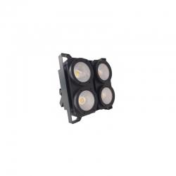 LED BLINDER 4X100W DUAL LED 3000/5600°K WILDPRO