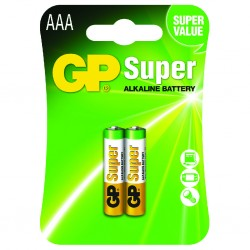 Pila Alcalina GP BATTERIES AAA BLIST 2