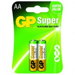 Set Pilas Alcalina GP BATTERIES AA BLIST 2