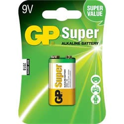 Bateria Alcalina GP Battery 9V Blister 1